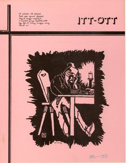 1970 - 4. évf., 3-4 szám