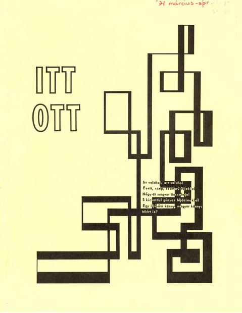 1971 - 4. évf., 5-6 szám