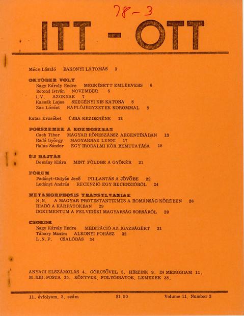1978 - 11. évf., 3 szám