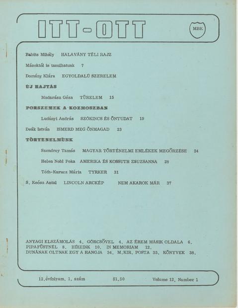 1979 - 12. évf., 1 szám