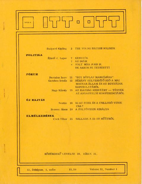 1980 - 13. évf., 1 szám