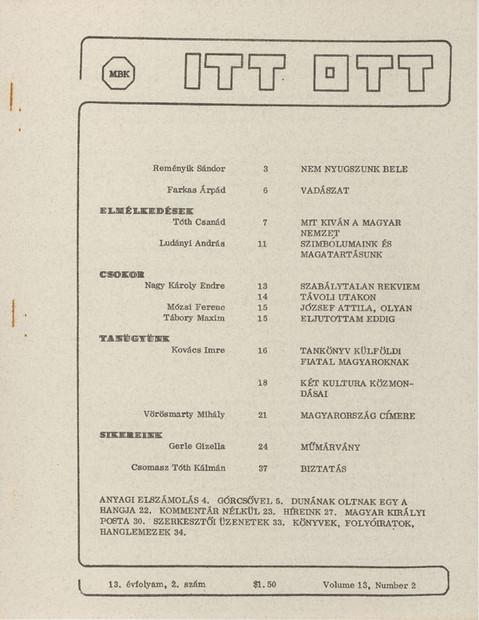 1980 - 13. évf., 2 szám