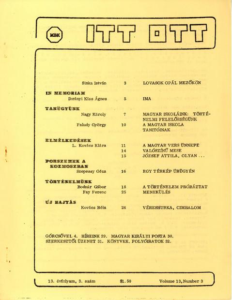 1980 - 13. évf., 3 szám