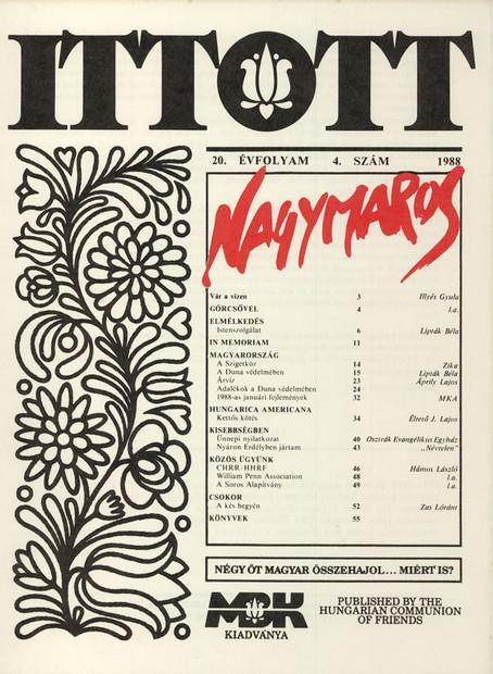 1987 - 20. évf., 4 szám