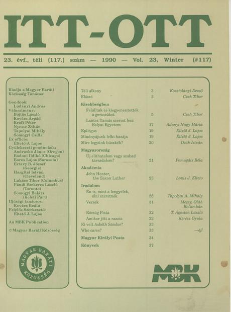 1990 - 23. évf., 4 szám